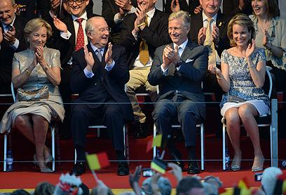 למלך לבלגיה תפקיד מאחד במדינה המפולגת (צילום: AP) (צילום: AP)