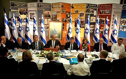 ישיבת הממשלה הבוקר. לא כל תקציבי המשרדים ייפגעו (צילום: מרים צחי) (צילום: מרים צחי)