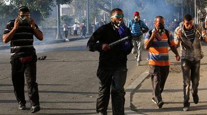 Clashes in Cairo (Photo: EPA)