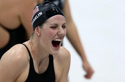 מיסי פרנקלין. שש מדליות זהב באליפות העולם (צילום: GettyImages) (צילום: GettyImages)