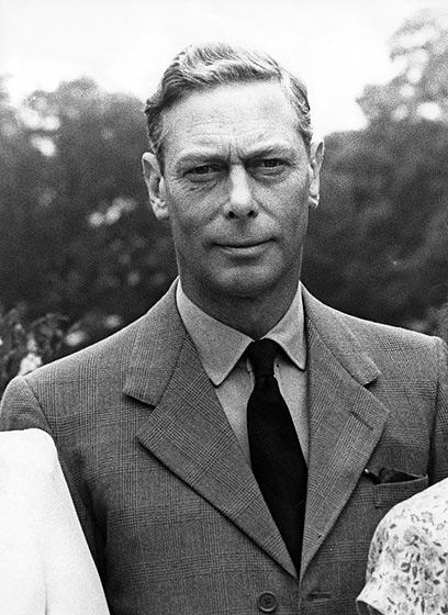 וויליאם וקייט עשו מחווה לאביה של המלכה אליזבת השנייה, המלך ג'ורג' השישי (צילום: Gettyimages imagebank) (צילום: Gettyimages imagebank)