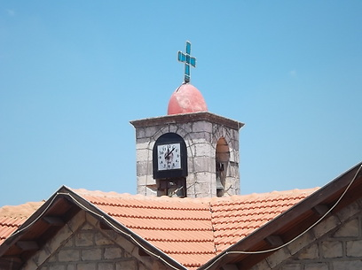 מרשימה מאוד מבפנים. הכנסייה האורתודוקסית (צילום: אמנון גופר) (צילום: אמנון גופר)