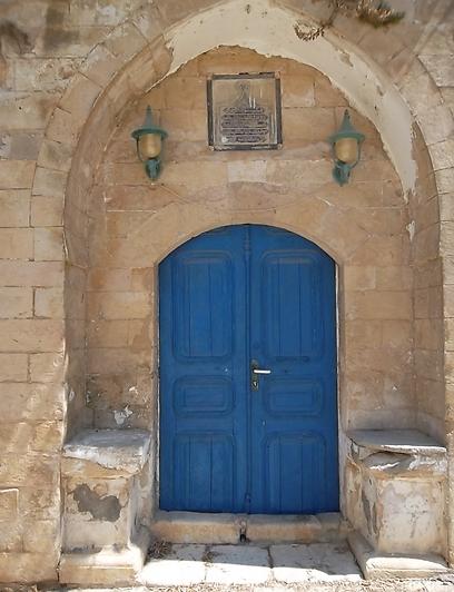 הכניסה לזאוויה של השאזלים - מקום התפילה של הדרווישים הסופים (צילום: אמנון גופר) (צילום: אמנון גופר)