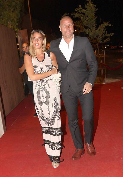 איציק זוהר ואשתו לי (צילום: ענת מוסברג)