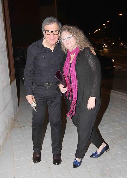 טמירה ירדני וצדי צרפתי הגיעו למרות העריקה למתחרים (צילום: ענת מוסברג)