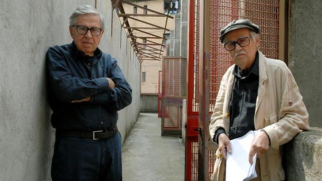 האחים טביאני. מימין: ויטוריו ופאולו (צילום: Umberto Montiroli) (צילום: Umberto Montiroli)