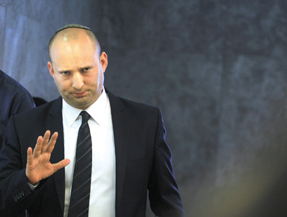 Naftali Bennett (Archive photo: Miriam Zachi)