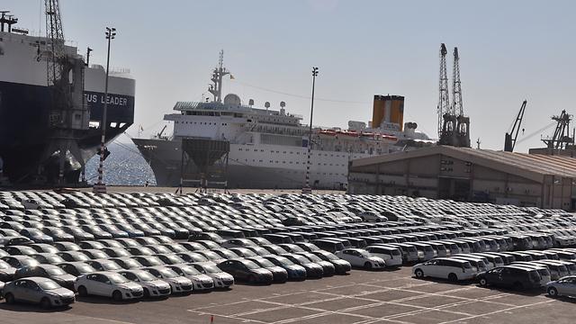 בחודש נובמבר יובאו לארץ כ-15 אלף כלי רכב פרטיים  ()