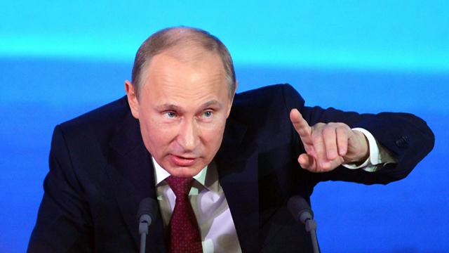"""""""החלטת אובמה מאכזבת"""". פוטין (צילום: AFP) (צילום: AFP)"""