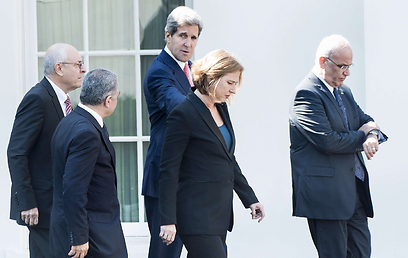 The Palestinians reached the conclusion there was nothing for them in the talks (Photo: AFP)