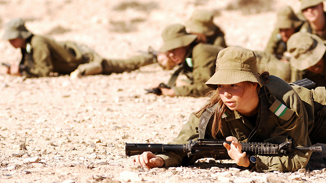 female warriors (Photo: IDF's Spokesperson's Unit )