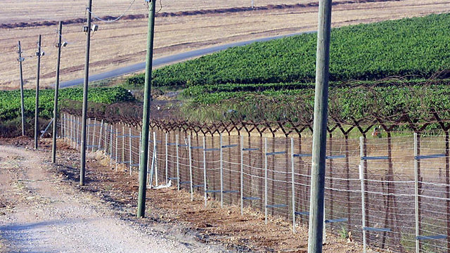 ארכיון. גדר ההפרדה (צילום: דן בלילטי) (צילום: דן בלילטי)