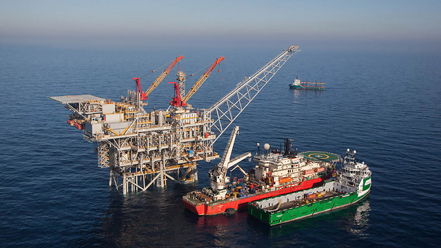 The Tamar natural gas field (Photo: Albatros) (Photo: Albatross)