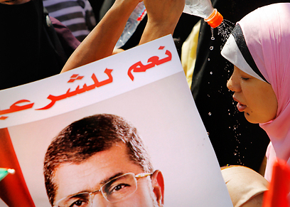 Pro-Morsi rally in Cairo (Photo: AP)