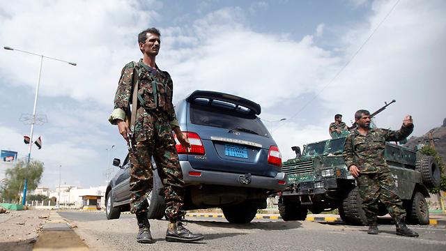 Entrance to British Embassy in Yemen (Photo: Reuters)