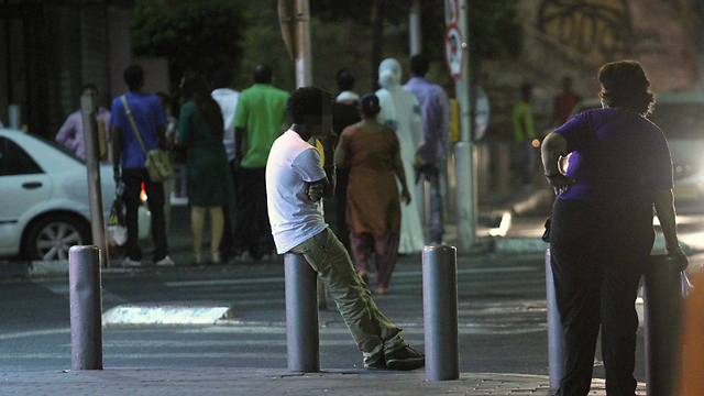 Area populates mostly African immigrants (Photo: Ido Erez)