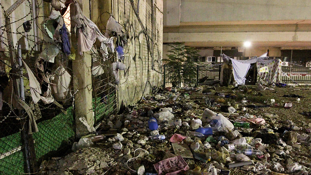 Difficult living conditions (Photo: Ido Erez)