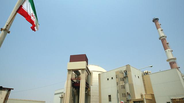 Iran's Bushehr reactor (Photo:AFP)