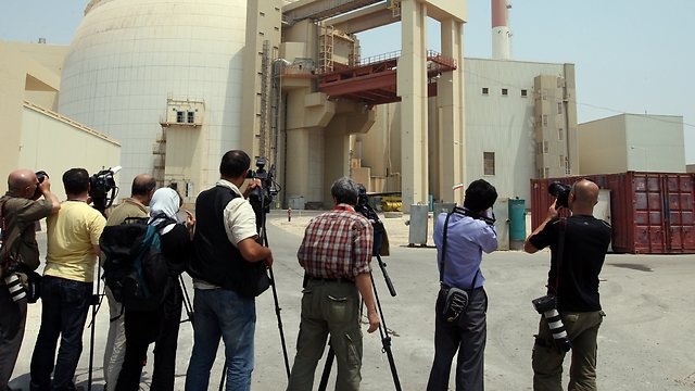 Bushehr reactor - Iran (Photo: AFP)