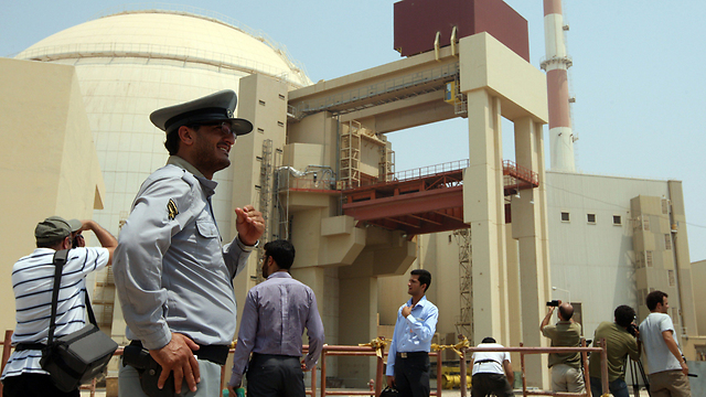 Iran's nuclear reactor in Bushehr (Photo: AFP) (Photo: AFP)