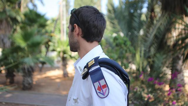 """רופא בשייטת סטי""""לים, סגן ערן (צילום: ירון ברנר ) (צילום: ירון ברנר )"""