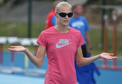 בת למשפחה ספורטיבית (צילום: EPA)