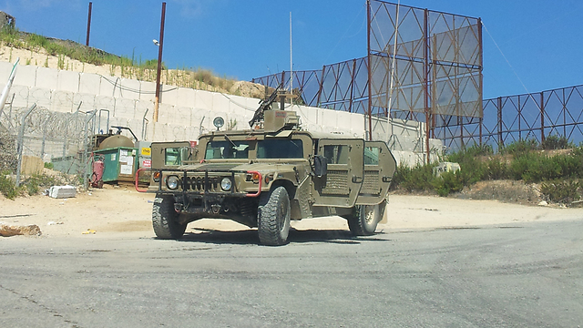 IDF on Lebanese border (Photo: Yoav Zitun)