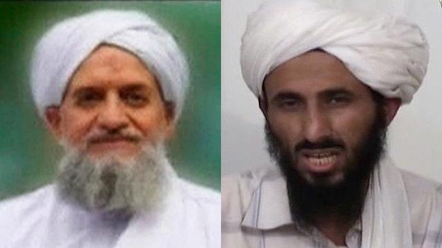 מנהיג אל-קאעידה בתימן קודם לתפקיד בכיר והקפיץ את האמריקנים. אל-וועיישי (מימין) וא-זוואהירי (צילום: רויטרס, MCT) (צילום: רויטרס, MCT)