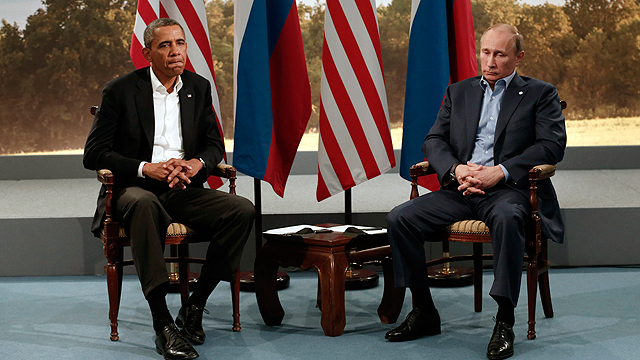 Obama, Putin at G8 Summit (Photo: Reuters)