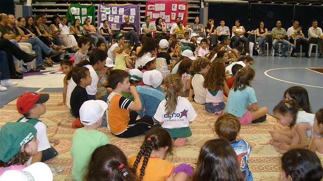 סלקום. שני מחזורים של שבוע, 250 ילדים בכל אחד (באדיבות סלקום) (באדיבות סלקום)