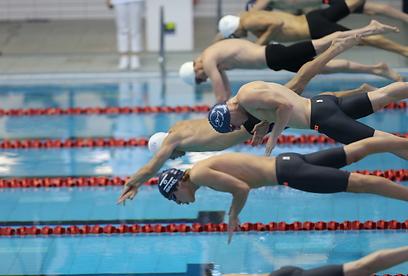 שחייה. עקב אכילס של ברקמן (צילום: אורן אהרוני) (צילום: אורן אהרוני)