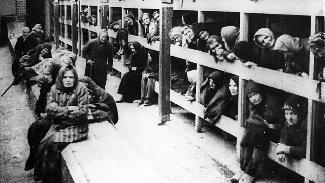Jewish prisoners at Auschwitz (Photo: EPA)