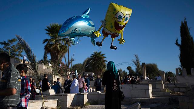Ramadan celebrations in Jerusalem (Photo:Reuters)