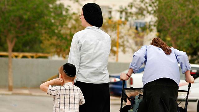 משפחה דתית. רגשות אשמה אימהיים, ולא רק דתיים  (צילום: אליעד לוי) (צילום: אליעד לוי)