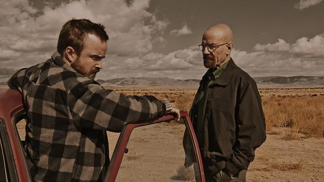 וולטר ווייט וג'סי פינקמן. התמקד בשתי דמויות (צילום: Ursula Coyote/AMC) (צילום: Ursula Coyote/AMC)