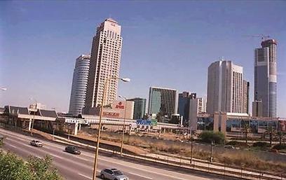 """מרכז הסחר ברמת גן, 2000 (צילום: סער יעקב, לע""""מ) (צילום: סער יעקב, לע"""