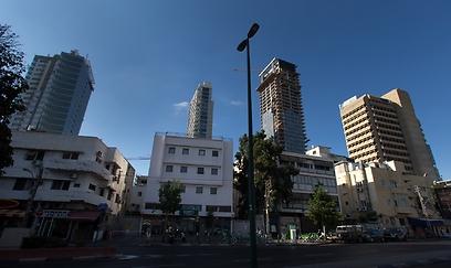 רחוב אלנבי, היום (צילום: ירון ברנר) (צילום: ירון ברנר)