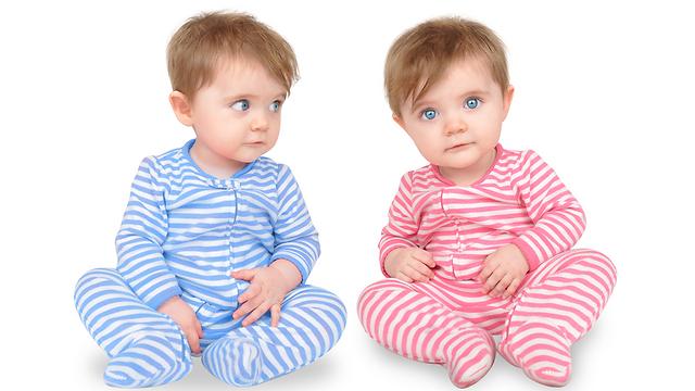 ביחד ולחוד. תאומים (צילום: shutterstock) (צילום: shutterstock)