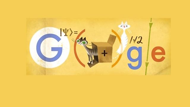 גם גוגל חגגה עם שרדינגר ()