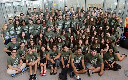 125 צעירים וצעירות. טיסת החיילים (צילום: שחר עזרן)