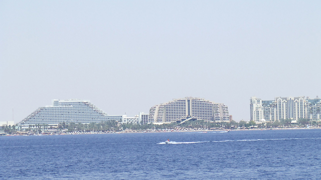 אזור המלונות באילת: פשיעה או שיפור כלכלי? (צילום: יואב גלזנר) (צילום: יואב גלזנר)