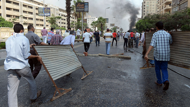 קהיר, אתמול בבוקר (צילום: AFP) (צילום: AFP)