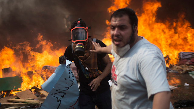 Violence in Cairo (Photo: AP)