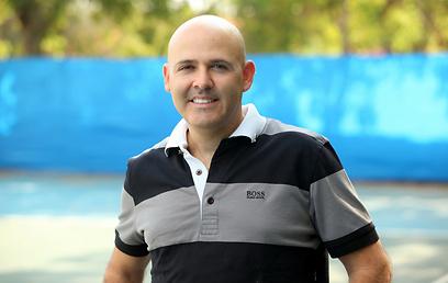פנה אל לב היהלומנים. טוכמאייר (צילום: באדיבות איגוד הטניס) (צילום: באדיבות איגוד הטניס)