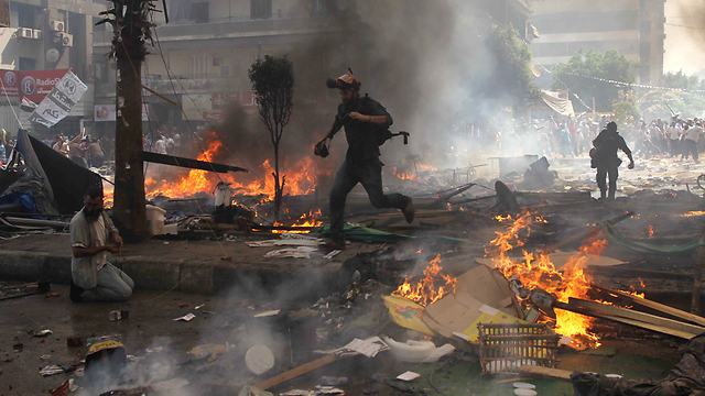 Violence in Cairo (Photo: AFP)