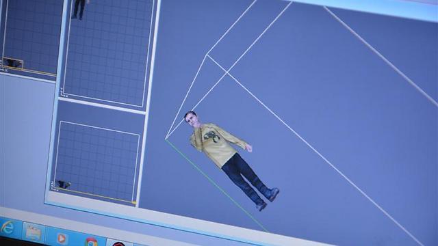 גרסה דיגיטלית של דוגמן אחר שהוכנה מבעוד מועד  (צילום: שחר שושן) (צילום: שחר שושן)