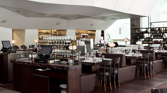 """מסעדת """"פאסטל"""" (צילום: עמית גירון) (צילום: עמית גירון)"""