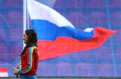 """""""אנחנו הרוסים שונים מהאנשים באירופה"""". איסינבייבה (צילום: AFP) (צילום: AFP)"""