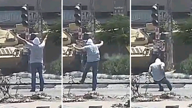 Killing of unarmed protester in Cairo