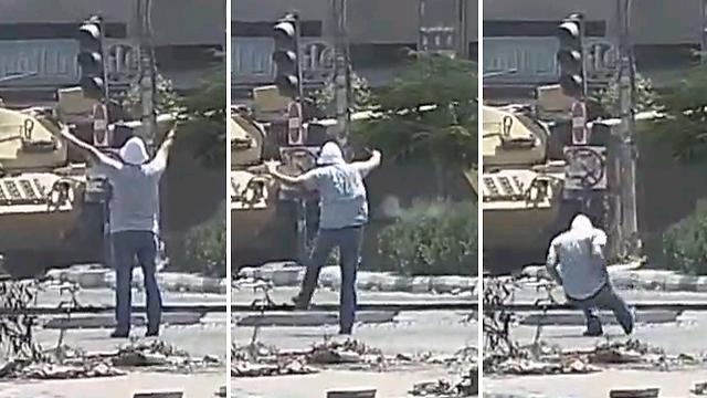 Killing of unarmed protester in Cairo